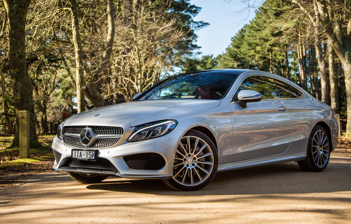 Photo wallpaper Mercedes-Benz, Mercedes, AMG, Coupe, C-Class, C205