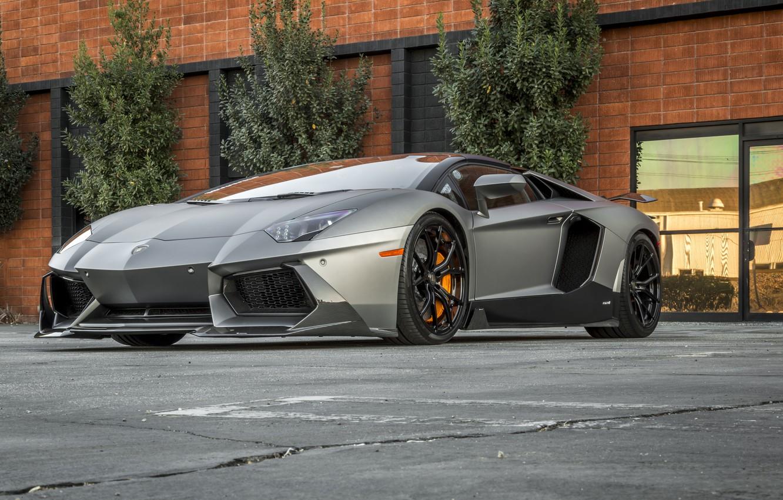 Photo wallpaper Lamborghini, Aventador, Zaragoza, Edition, Vorseiner