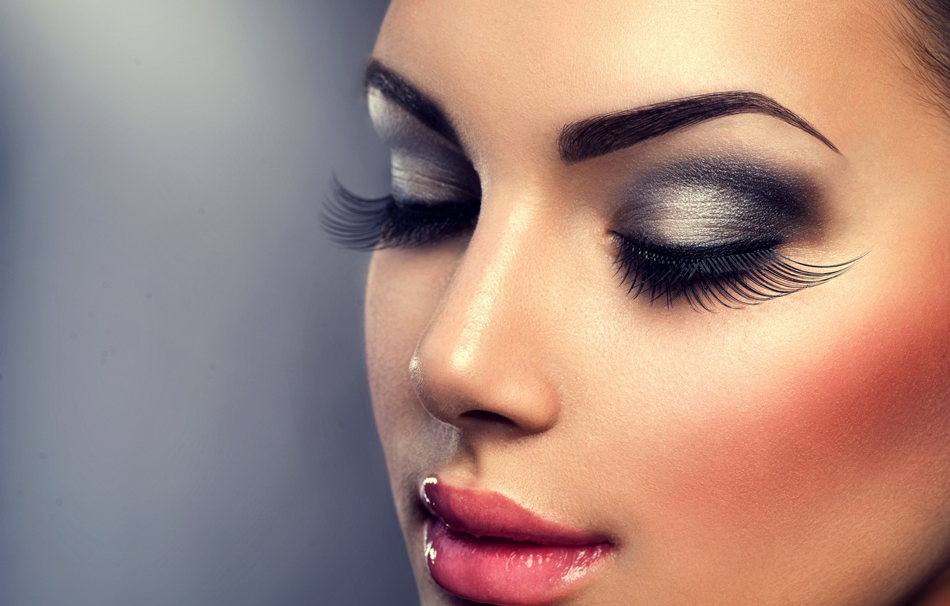 Wallpaper Girl Face Woman Makeup
