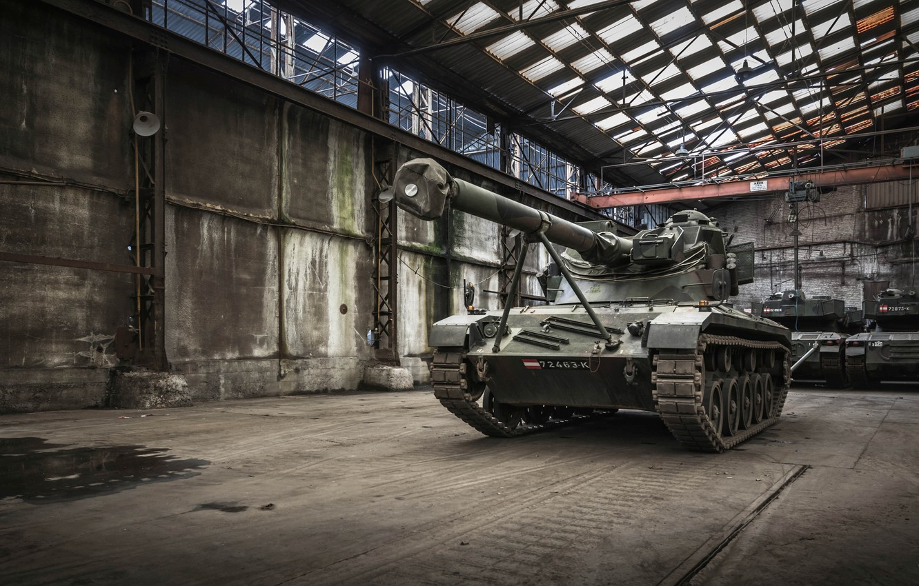 Photo wallpaper weapons, army, tank
