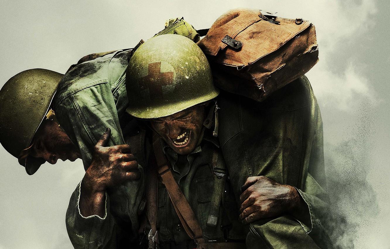 Photo wallpaper battlefield, soldier, smoke, war, cross, dust, man, america, fight, Andrew Garfield, pearls, uniform, combat, seifuku, …