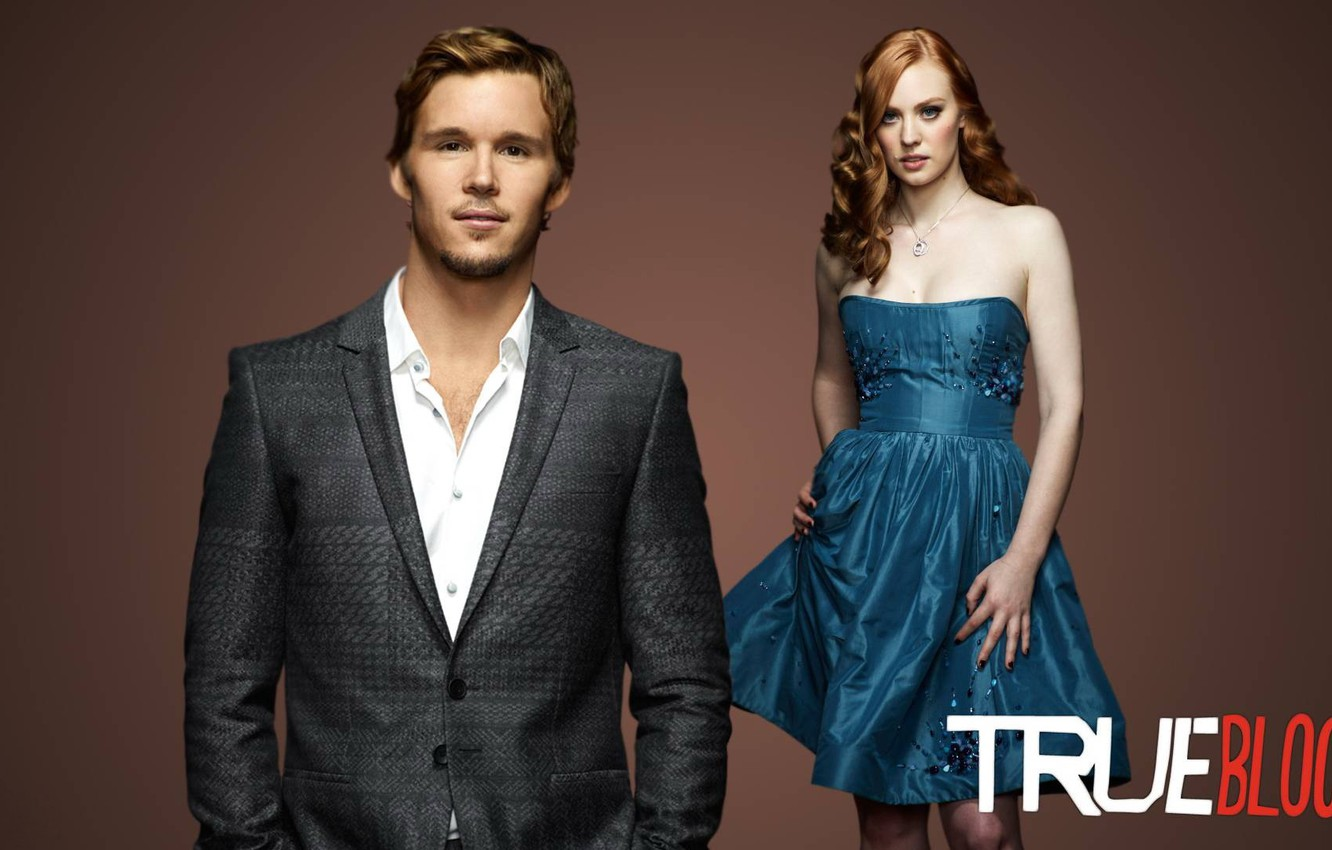 Wallpaper True Blood Ryan Kwanten Deborah Ann Woll Images For