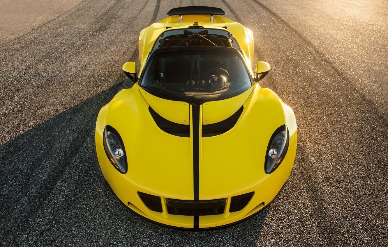 Photo wallpaper supercar, Hennessey, Venom, GT Spyder