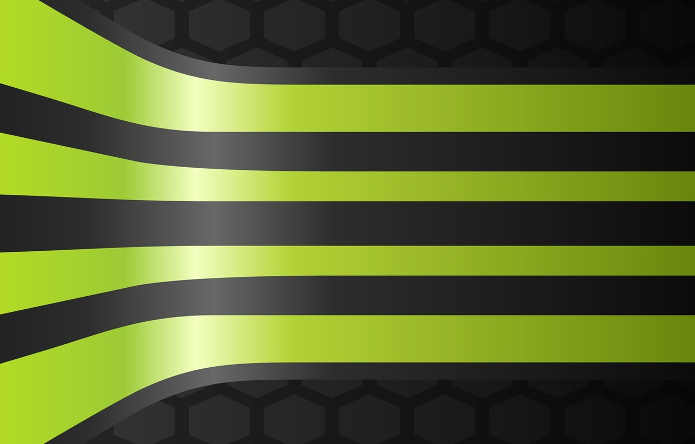 Photo wallpaper green, black, grey, lines