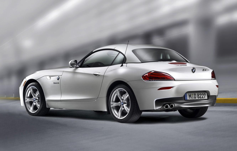 Photo wallpaper auto, BMW, white