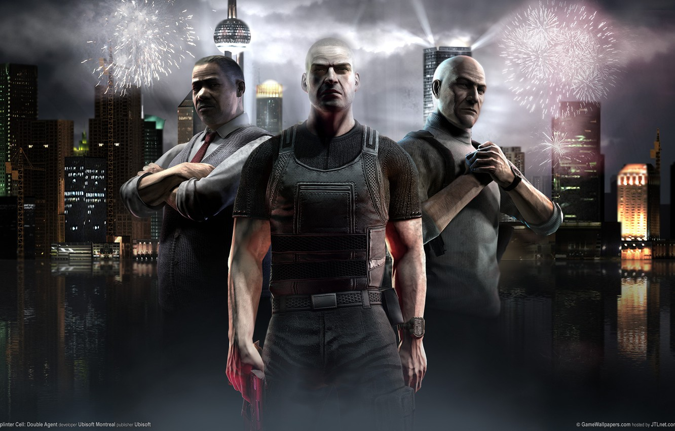 Wallpaper Splinter Cell Shanghai Sam Fisher Splinter Cell