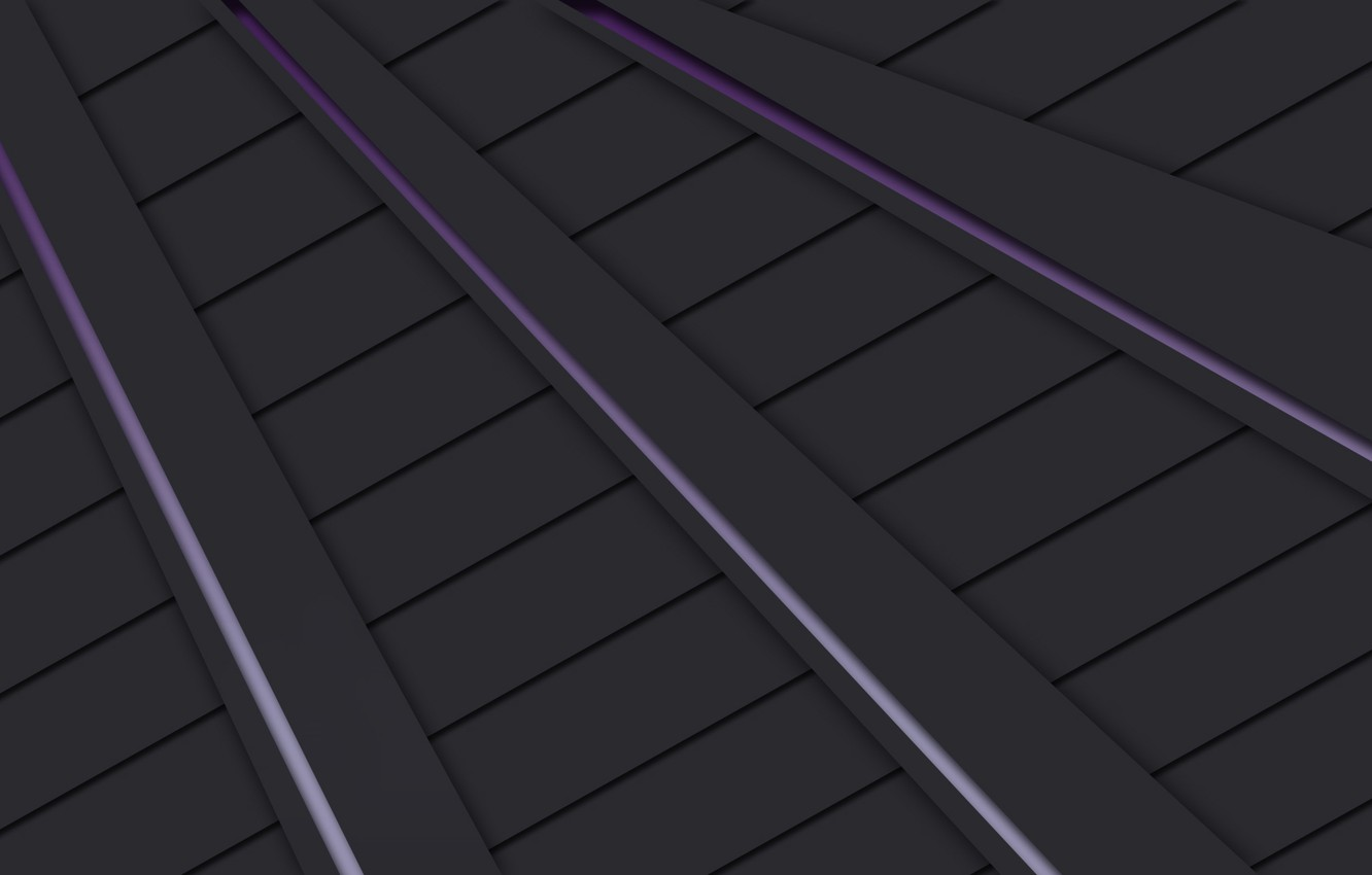 black, grey, Lines, awesome, purple