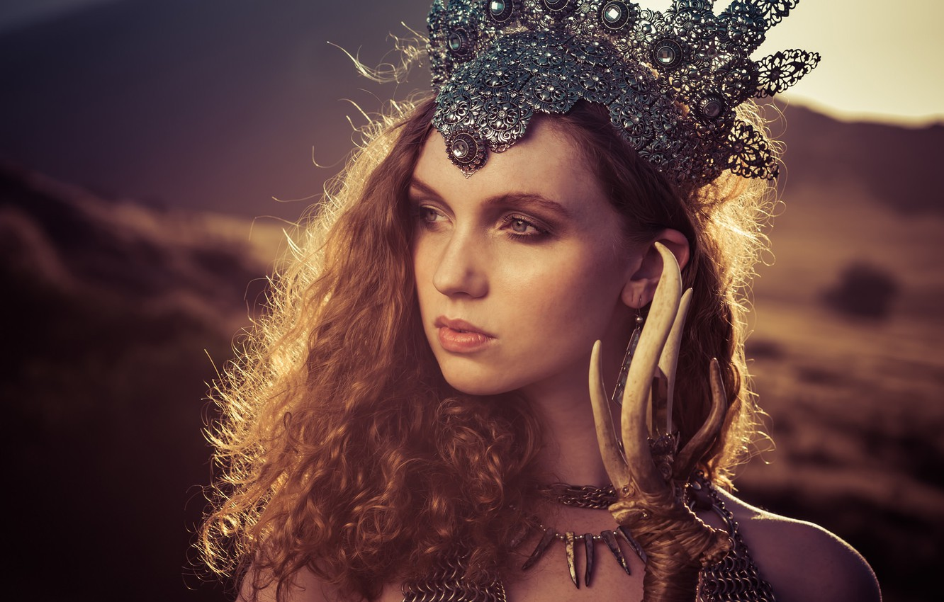 Photo wallpaper look, girl, style, mood, hair, crown, red, redhead, Alexandria Basso