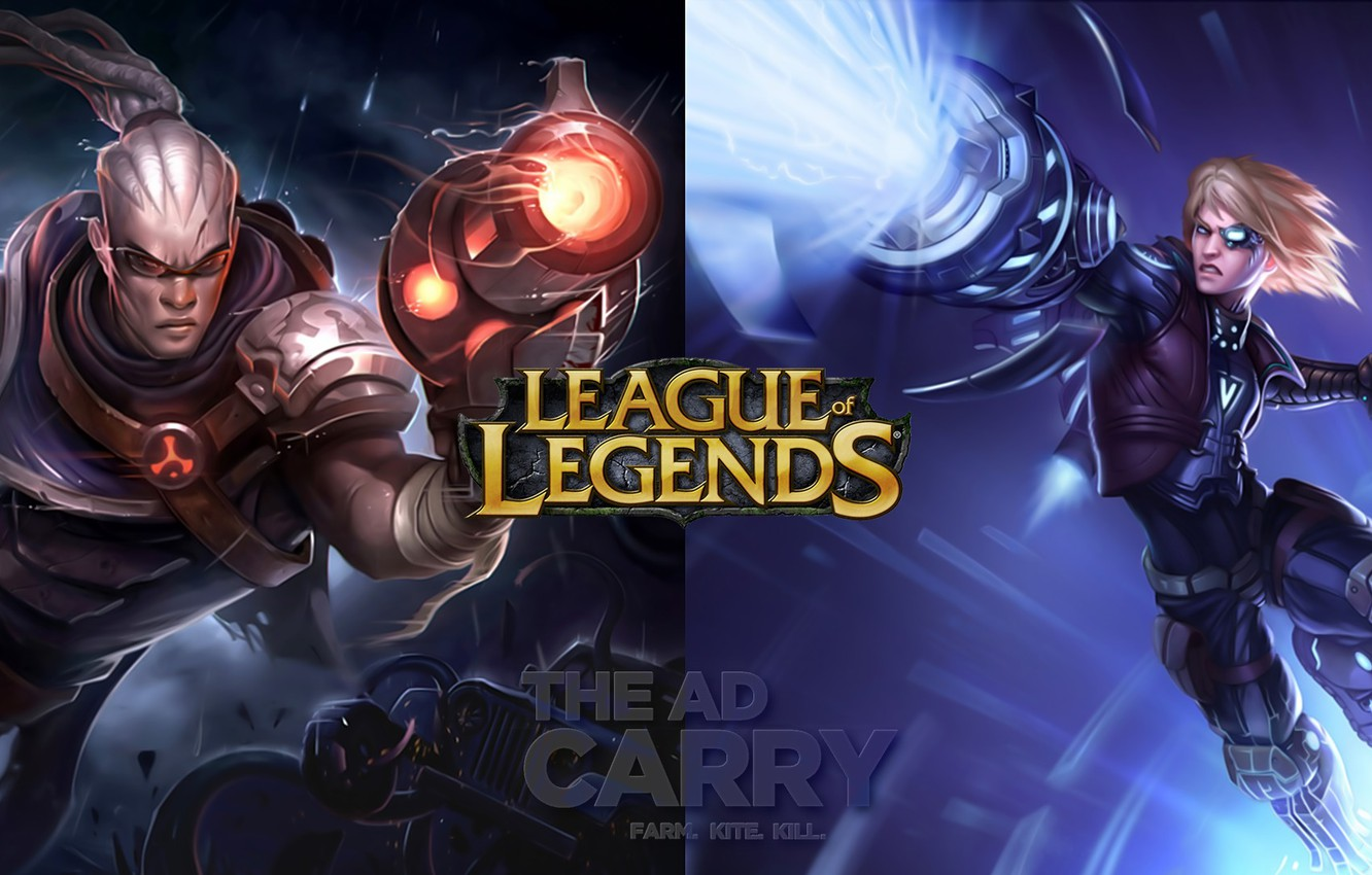 Wallpaper League Of Legends Ad Carry Adc Images For Desktop