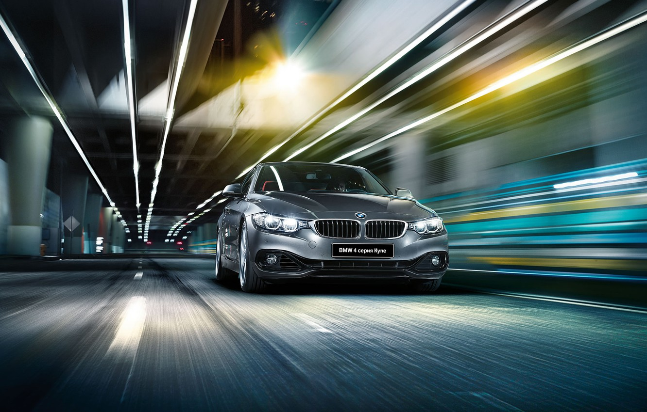 Photo wallpaper BMW, coupe, BMW, Coupe, 4 series, F32, 2015