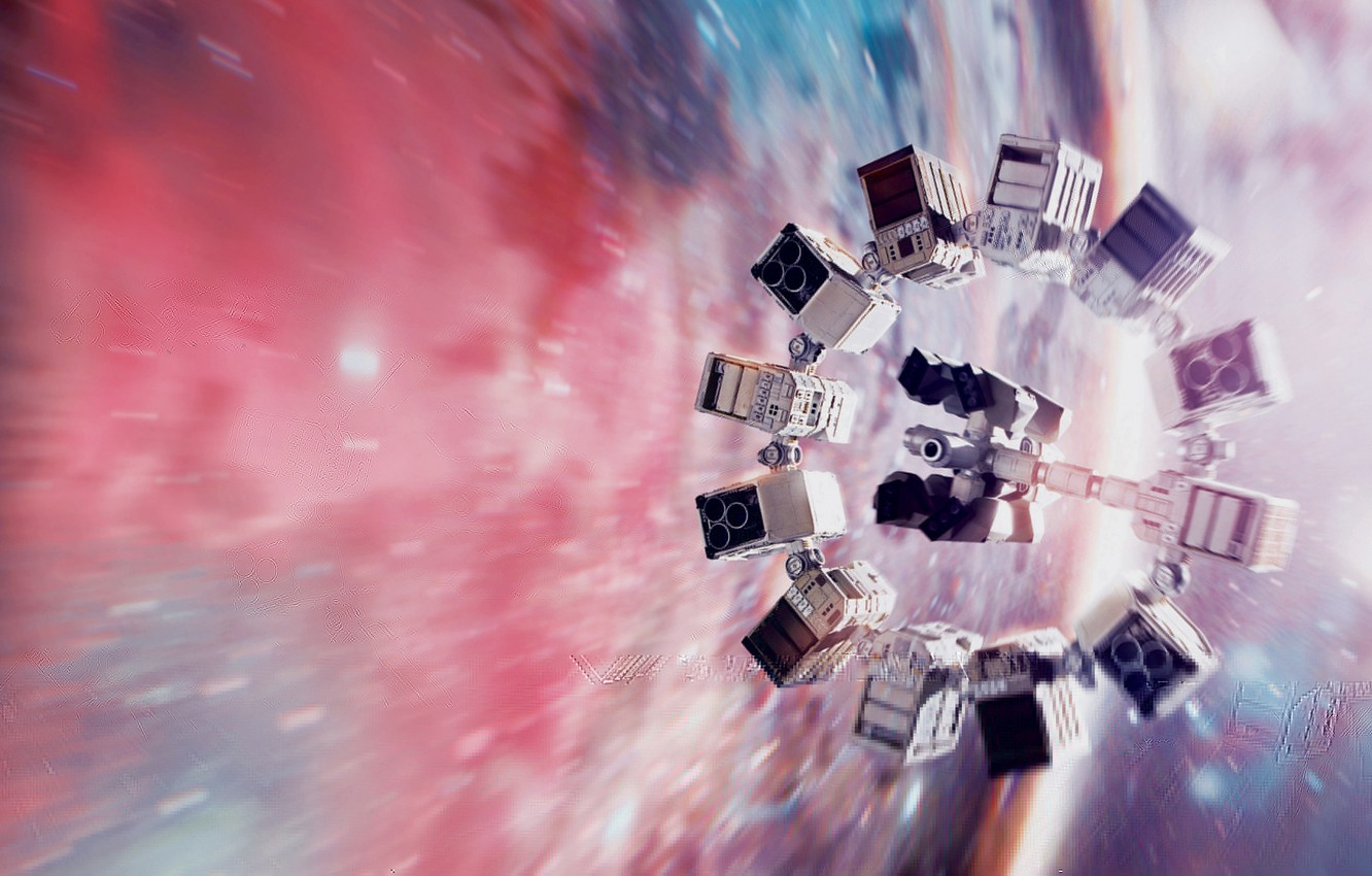 Photo wallpaper space, spaceship, Interstellar, Intersteĺar
