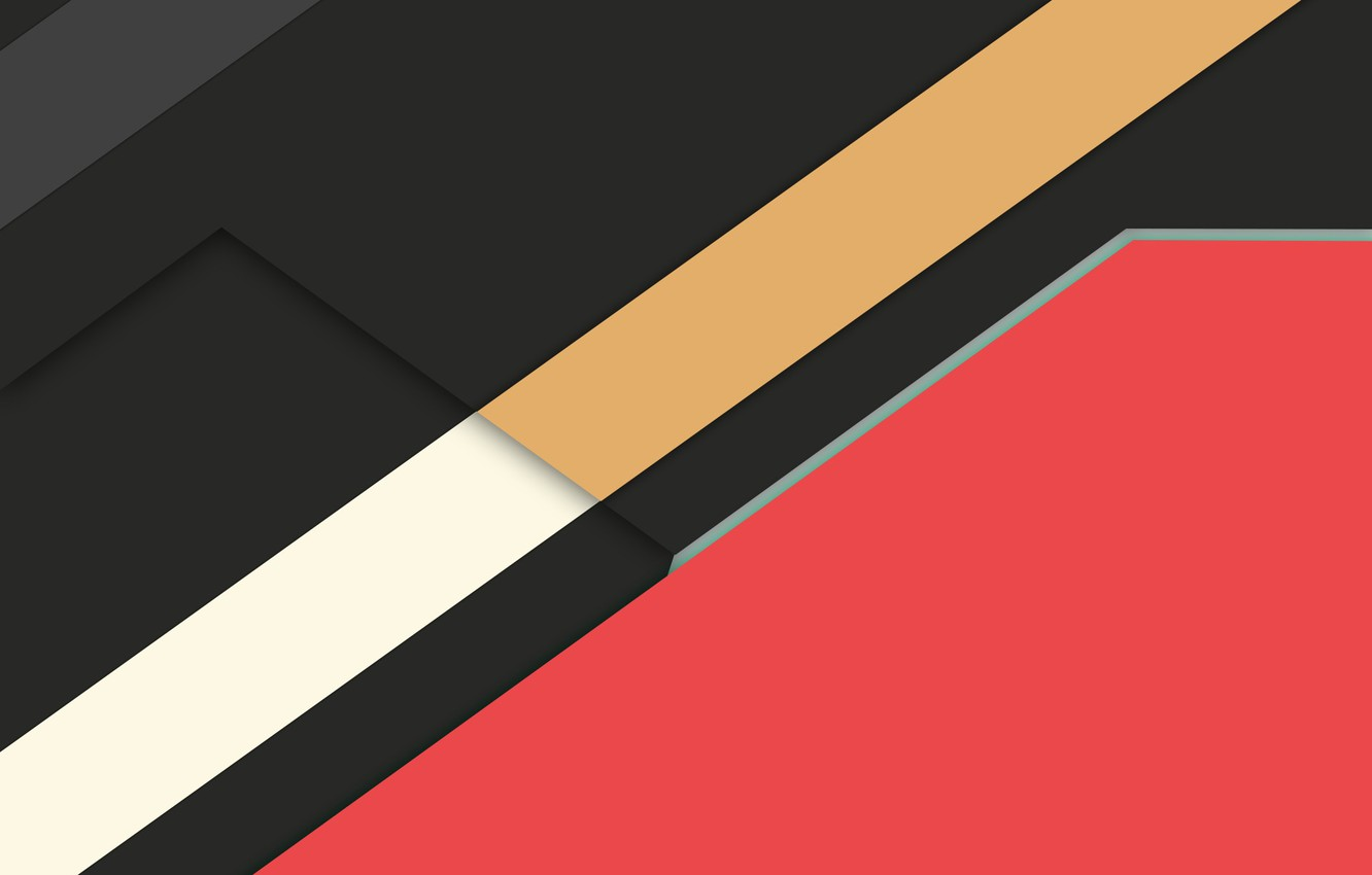 Photo wallpaper line, abstraction, Android, material
