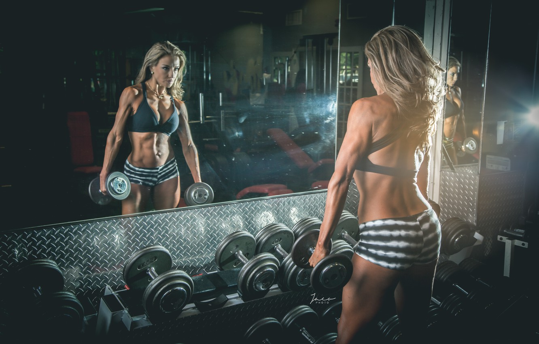 Photo wallpaper erotic, girl, sport, training