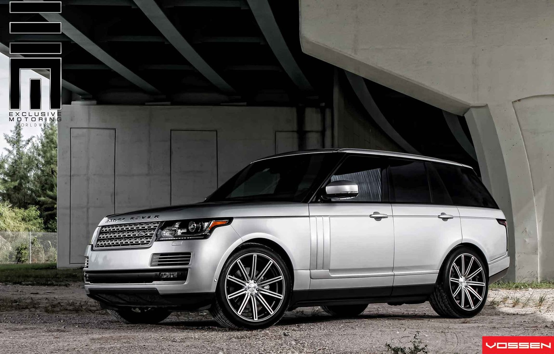 Photo wallpaper car, Land Rover, Range Rover, jeep, vossen, VVSCV4