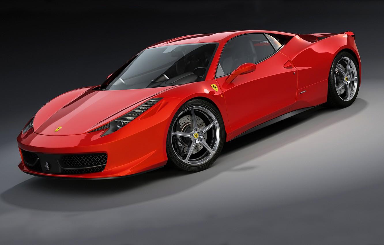 Photo wallpaper machine, Ferrari, 458 Italia, dangeruss