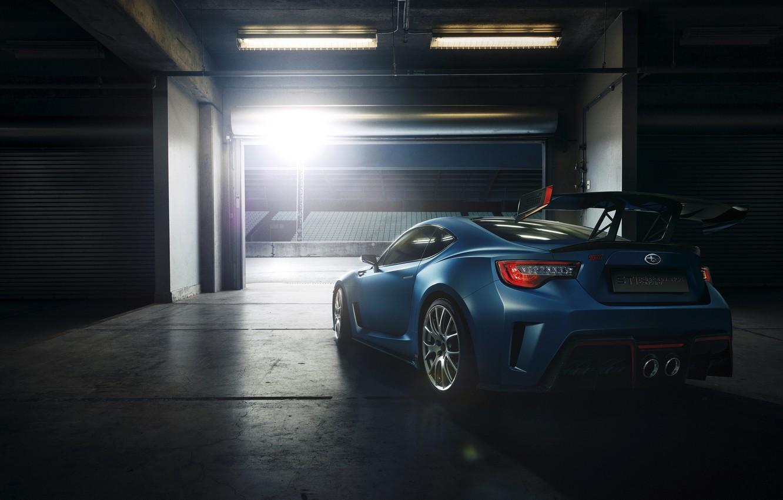 Photo wallpaper Concept, sport, tuning, Subaru, Subaru, BRZ, 2015, STI Performance