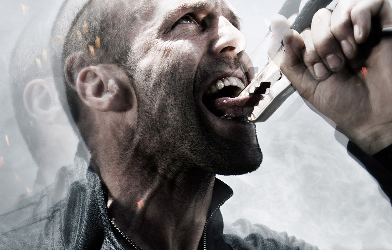 Photo wallpaper Jason Statham, Adrenaline, Crank