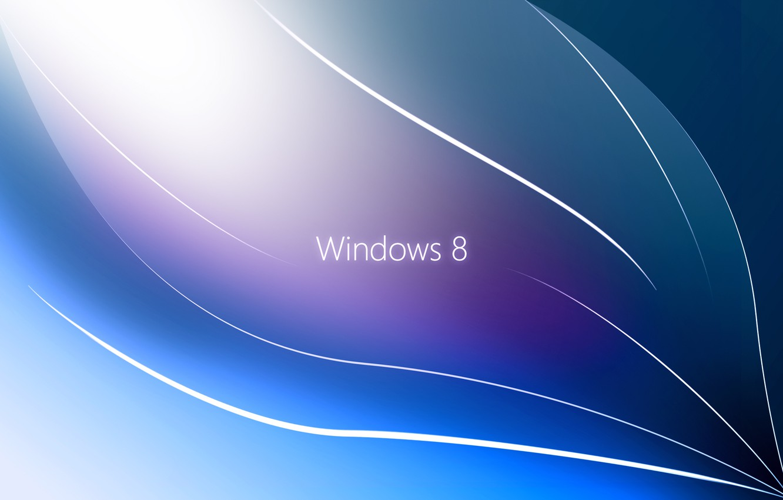 Photo wallpaper Windows 8, RealityOne. ОС, Thin Lines
