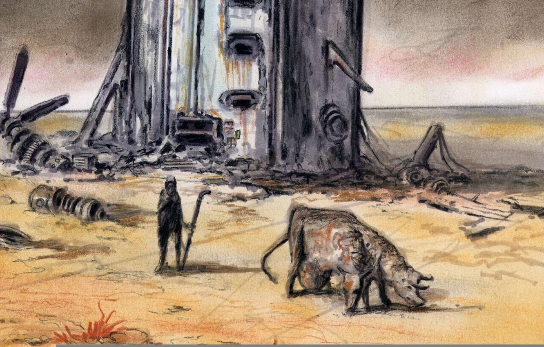 Fallout Interior Concept Art