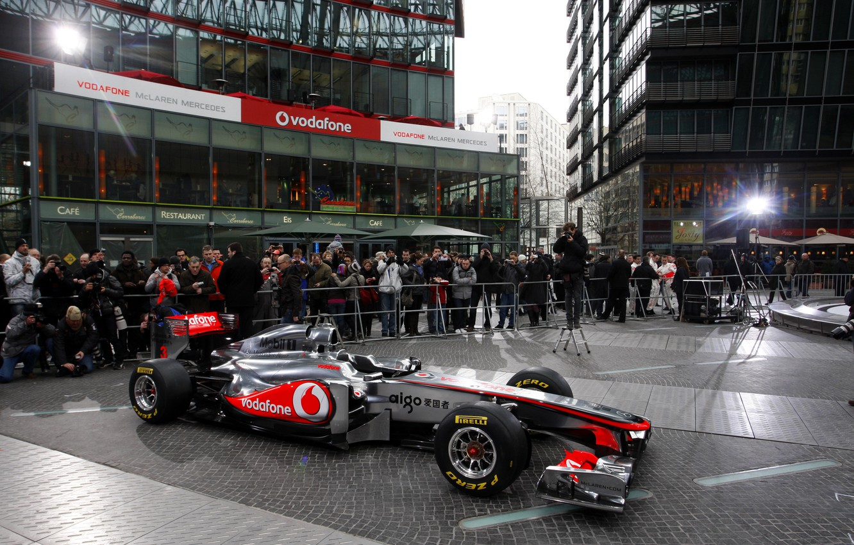 Photo wallpaper McLaren, formula 1, the car, formula 1, presentation