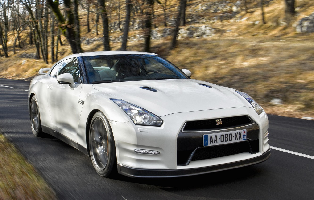 Photo wallpaper Nissan, Machine, Nissan, GT-R, Cars, R35, Cars