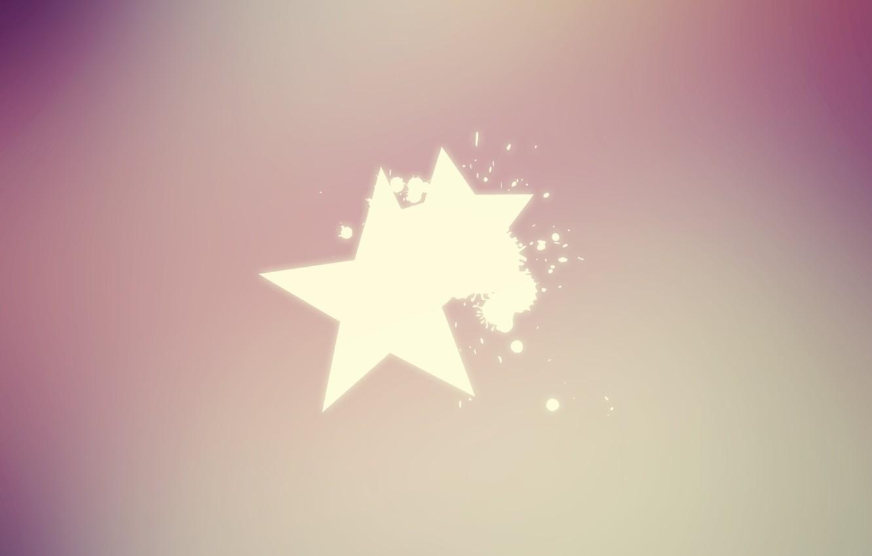 Photo wallpaper Minimalism, Star, Style