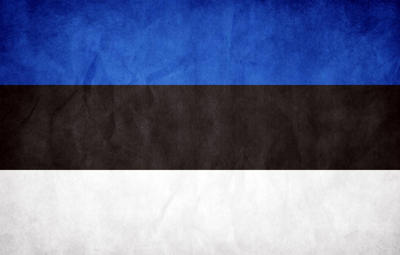 Photo wallpaper flag, Estonia, The Republic Of Estonia, The Republic Of Estonia