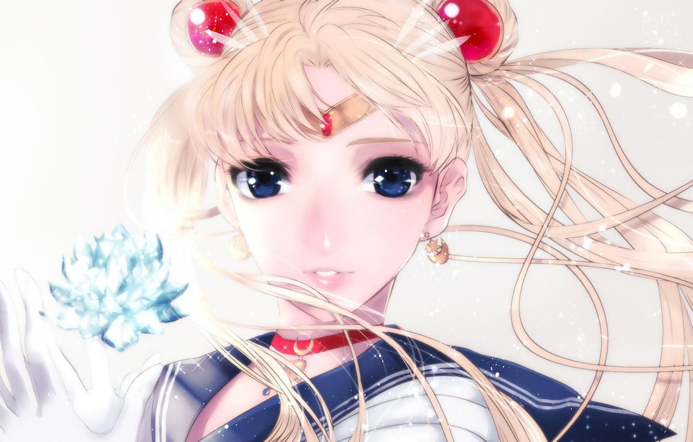 Photo wallpaper girl, crystal, Bishoujo senshi sailor moon, Sailor moon, Tsukino Usagi