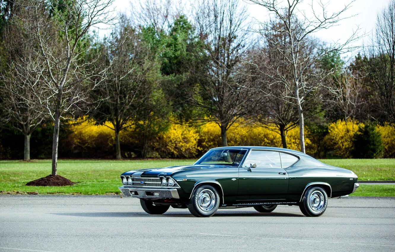 Photo wallpaper Chevrolet, 1969, Chevrolet, Chevelle, COPO, Chevelle