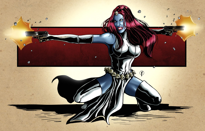 Photo wallpaper art, X-Men, art, marvel, comics, marvel, mystic, mystic