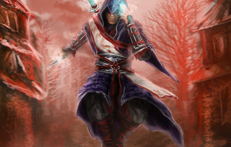 Photo wallpaper art, assassins creed, art, assassin, LetticiaMaer