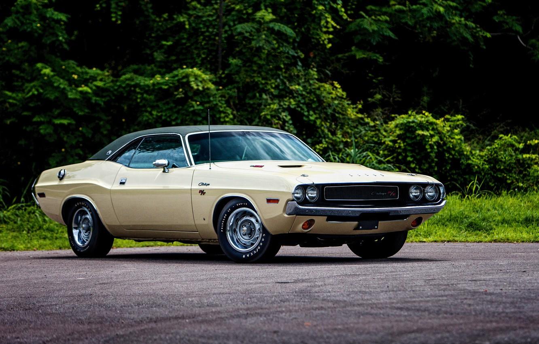 Photo wallpaper Dodge, Challenger, Dodge, 1970, Challenger, R/T SE 440