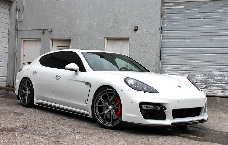Photo wallpaper Porsche, Panamera, HRE S101