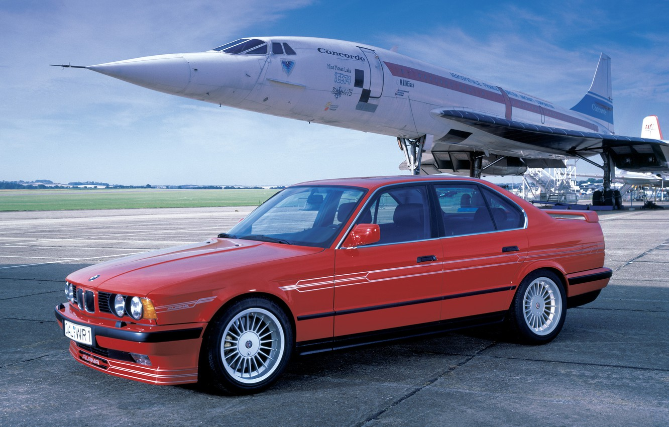 Photo wallpaper auto, Alpina tuning, 5 Series E34