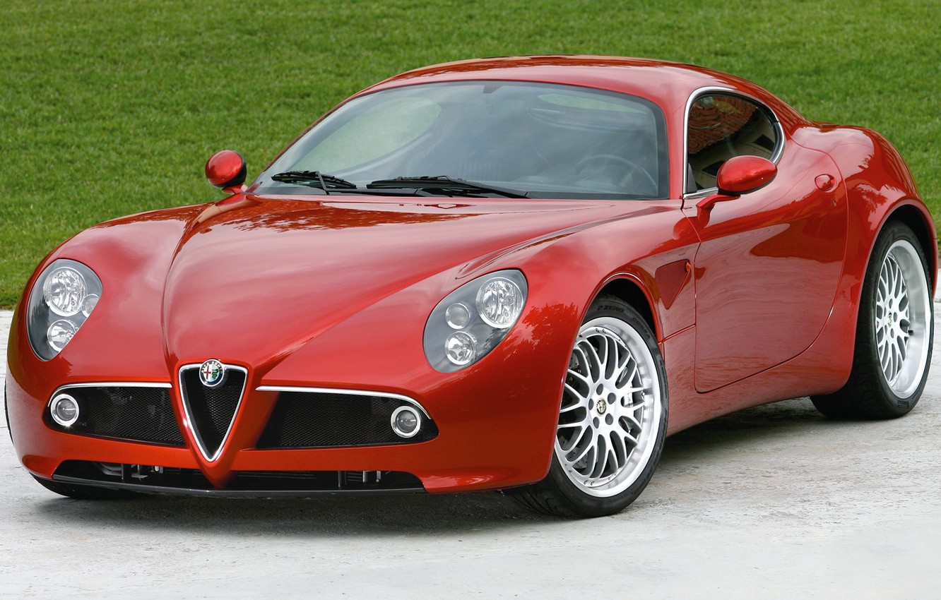 Photo wallpaper Alfa, Romeo, Competition