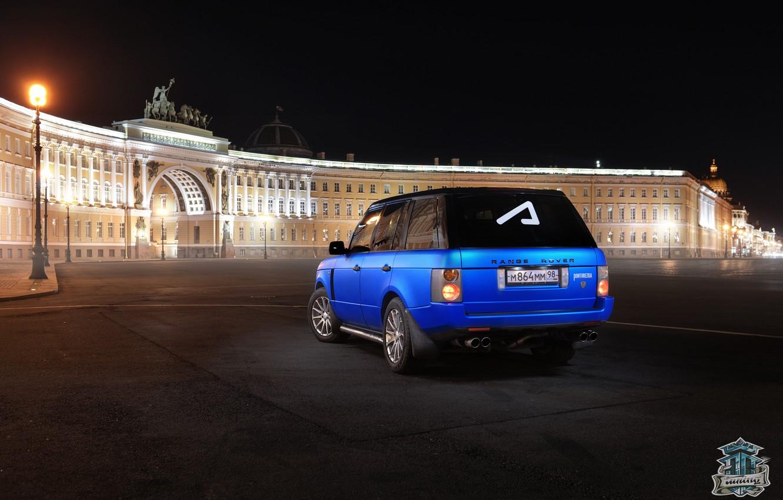 Photo wallpaper Land Rover, Pintoresca, Academeg, Academic, Pontorezka