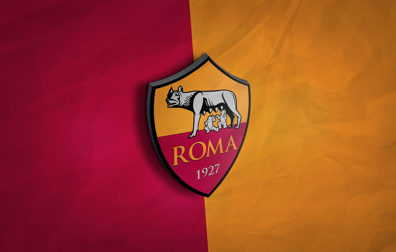 Wallpaper Wallpaper Sport Italy Football As Roma Serie A 3d Logo Images For Desktop Section Sport Download