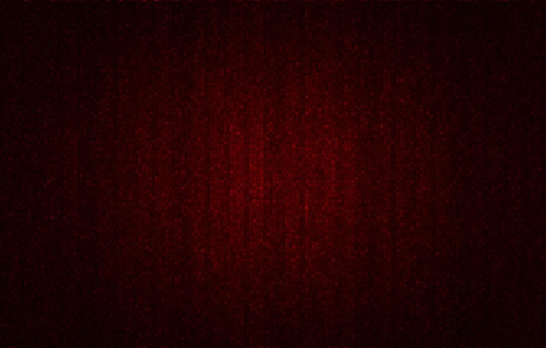 Photo wallpaper red, mosaic, cubes
