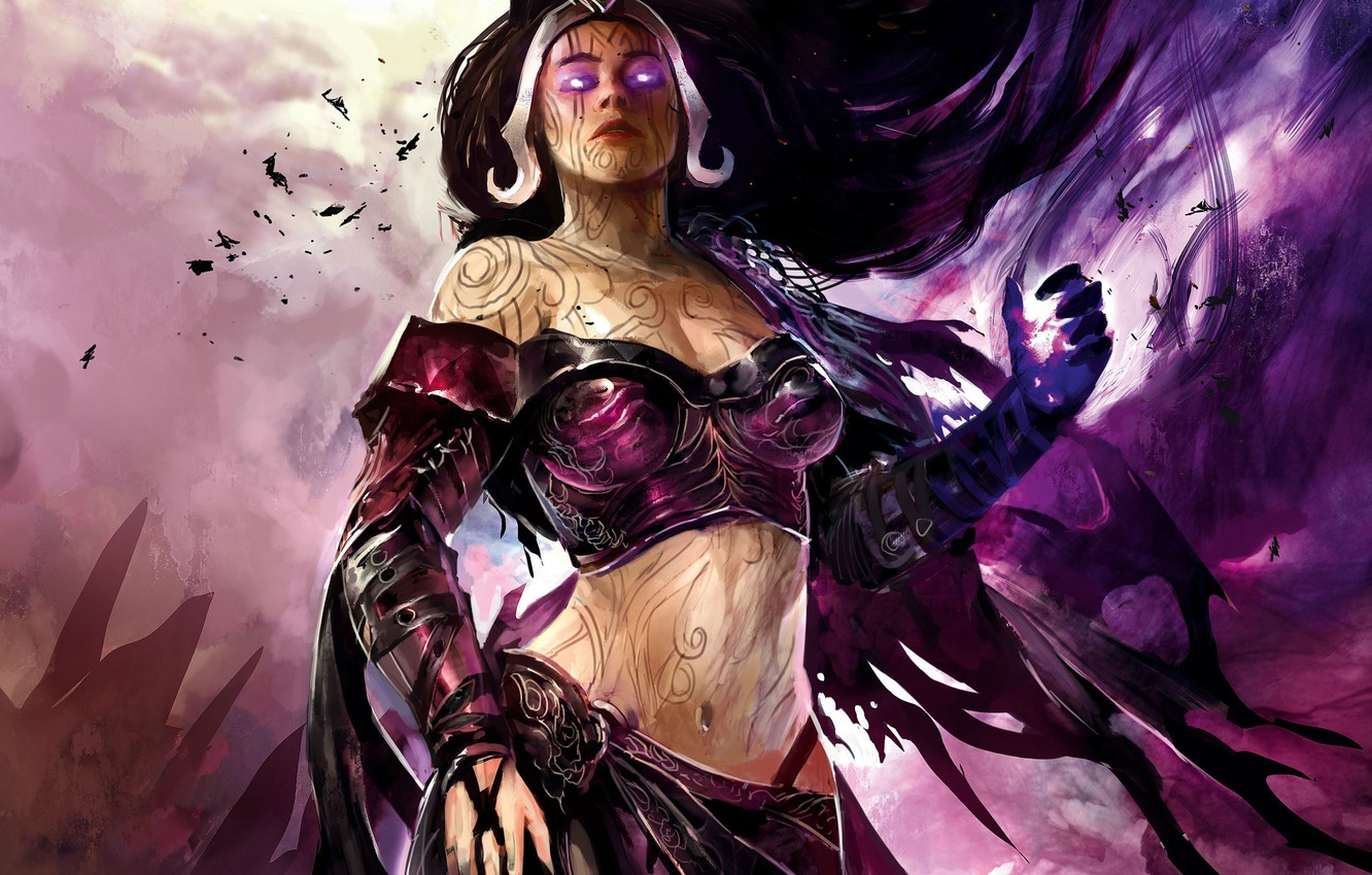Wallpaper Mag Magic The Gathering Planeswalker Liliana Of The