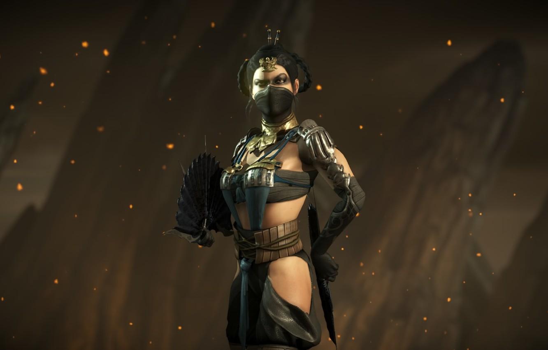 Photo wallpaper Mortal Kombat, kitana, kitana