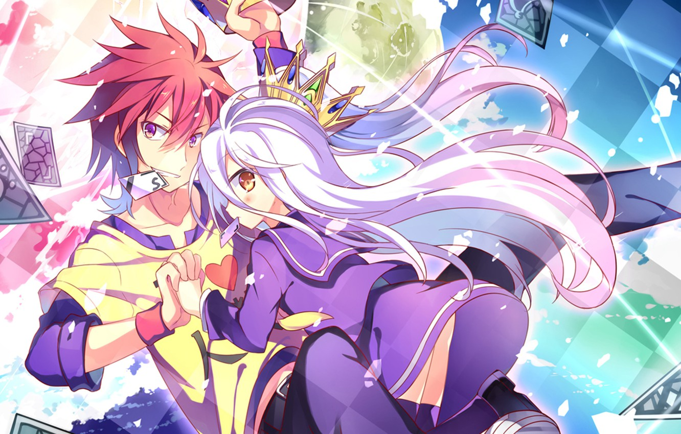 Wallpaper Background Sora Shiro No Game No Life The Game