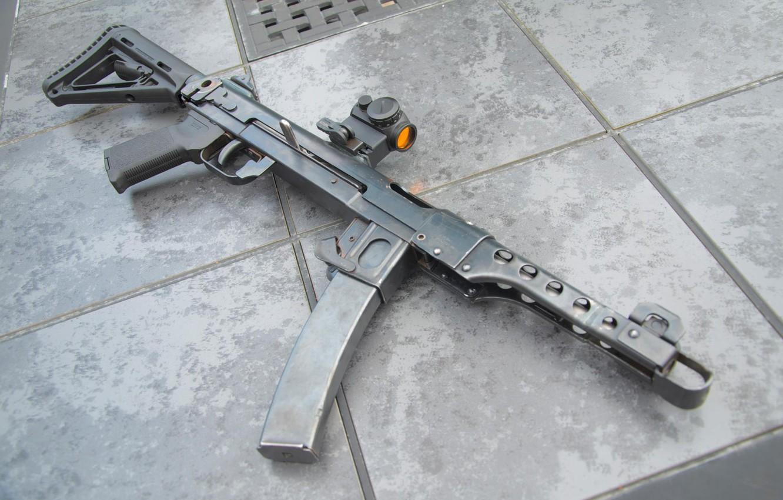 Photo wallpaper weapons, system, the gun, 62 mm, PPS-43, Bolt carrier tilt