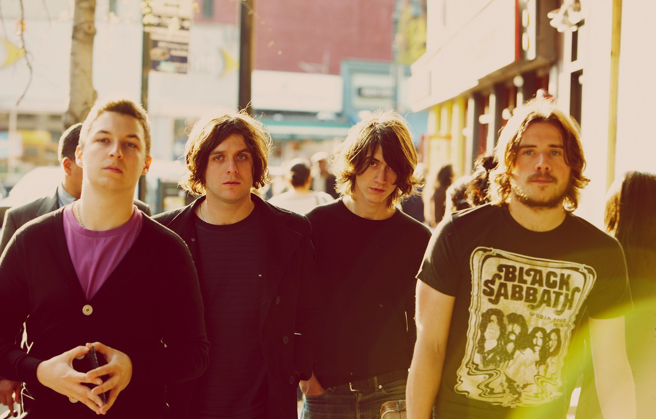 Photo wallpaper music, monkeys, indie rock, Arctic Monkeys, Alex Turner, Black Sabbath