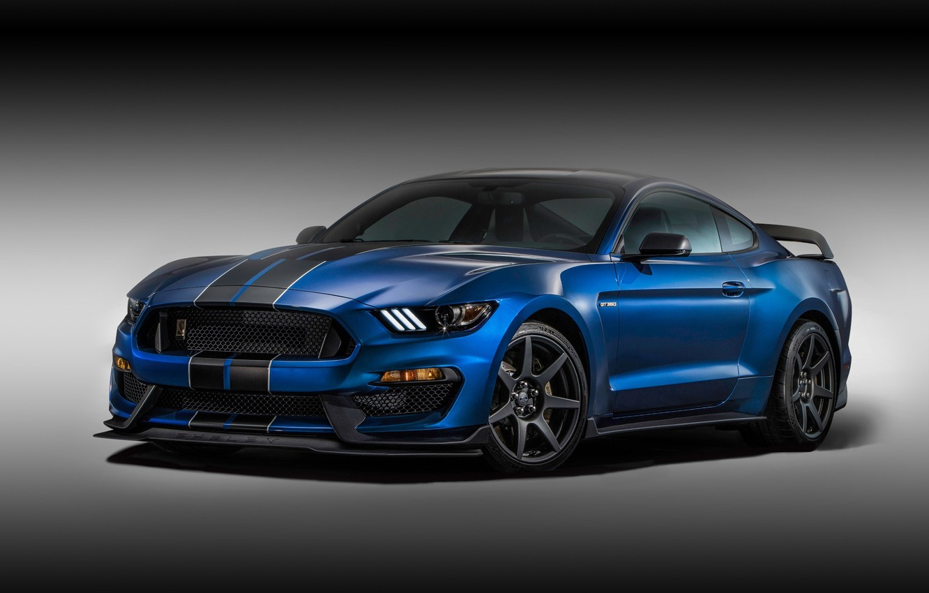 Photo wallpaper background, Mustang, Ford, Shelby, Ford, Mustang, the front, Muscle car, Muscle car, GT350R
