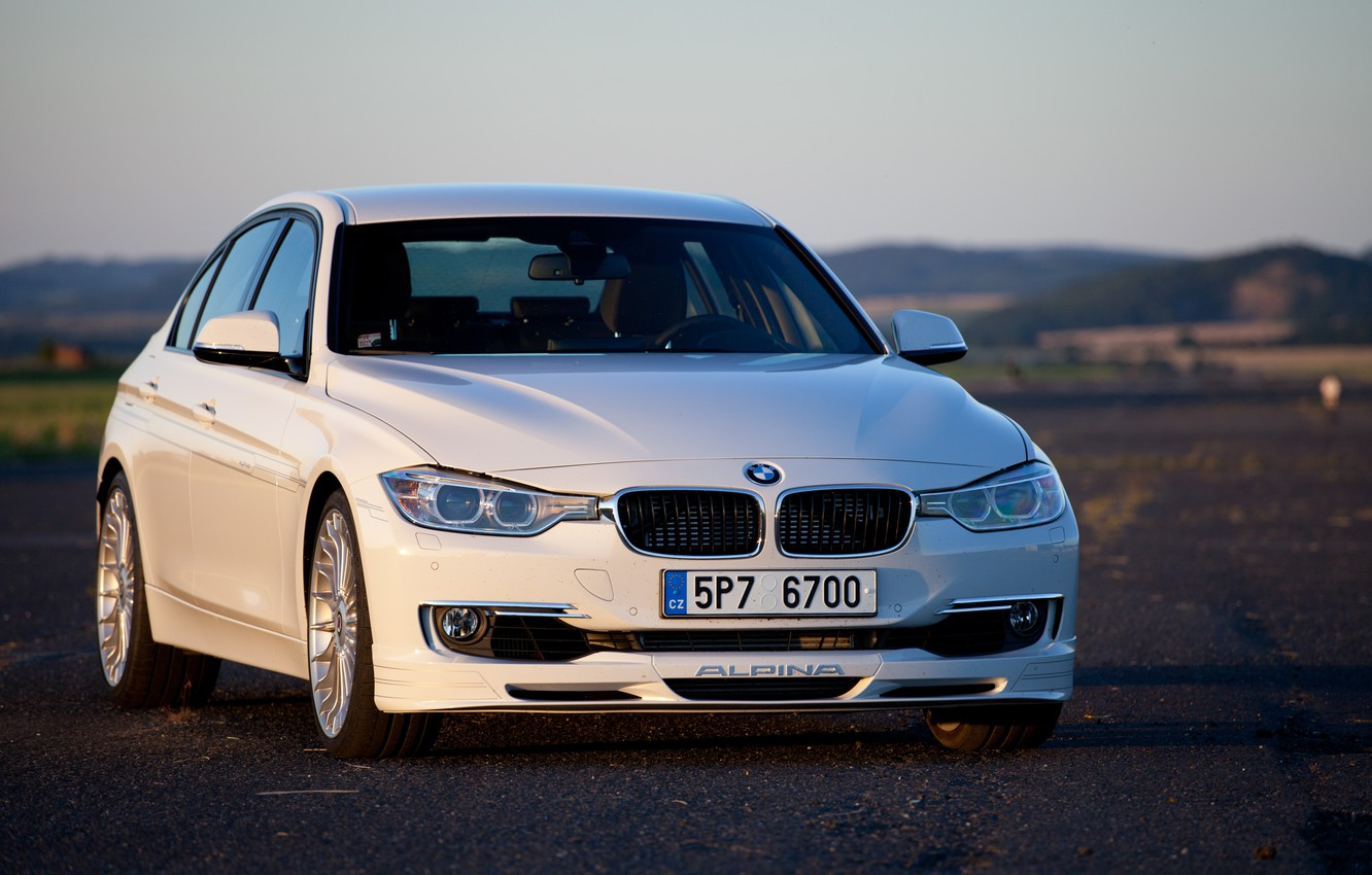 Wallpaper Bmw White F30 Biturbo Alpina Images For
