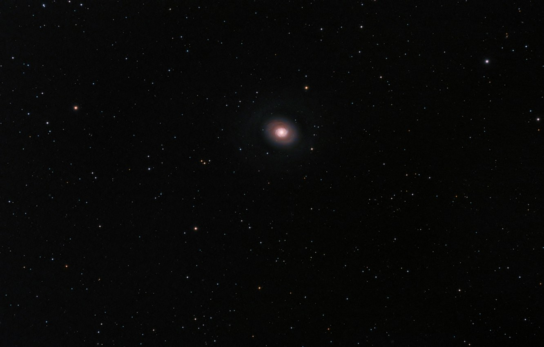 Photo wallpaper space, stars, nebula, M94 CC14