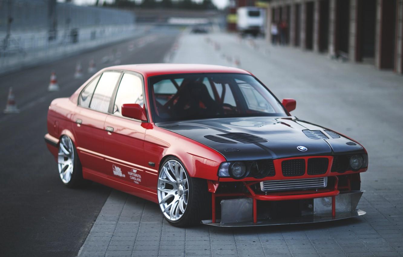 Photo wallpaper bmw, BMW, e34