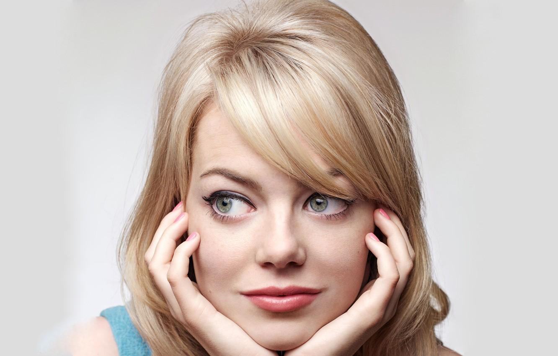 Photo wallpaper actress, blonde, Emma Stone, Emma Stone
