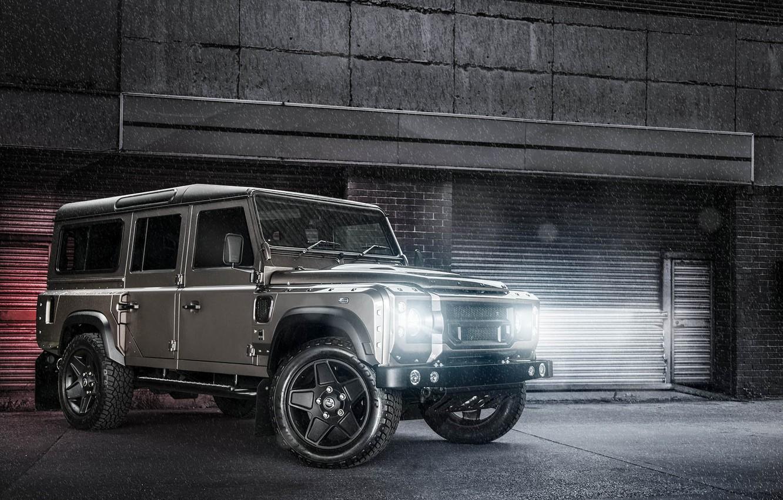 Photo wallpaper Light, Land Rover, Car, Defender, 110, Off Road, Kahn Design