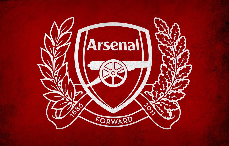 Photo wallpaper arsenal london, Arsenal London, logo arsenal, gunners